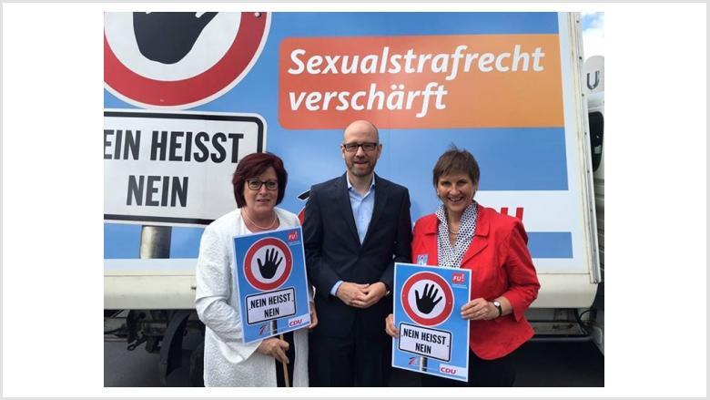 FRAUEN UNION hat Erfolg - Verschärfung des Sexualstrafrechts ist beschlossen