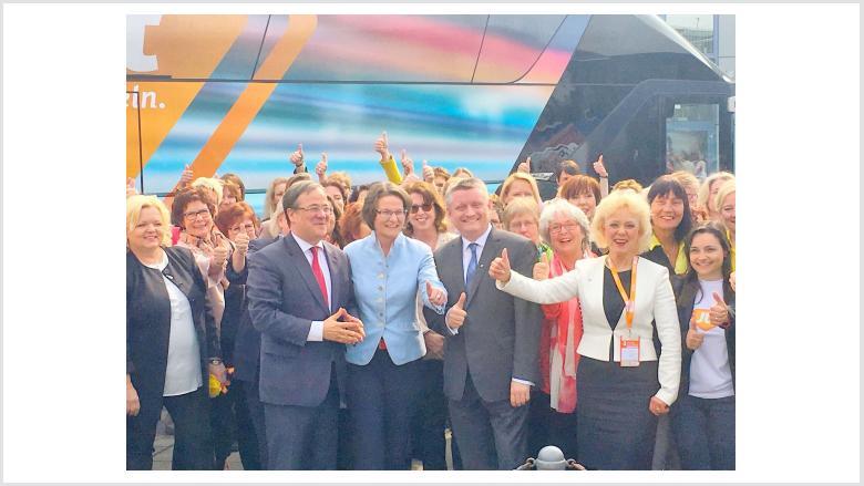 Frauen-Union Nordrhein-Westfalen kämpft für Armin Laschet und den Wechsel
